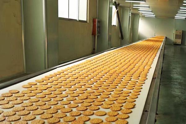 趣园食品-饼干前段生产线