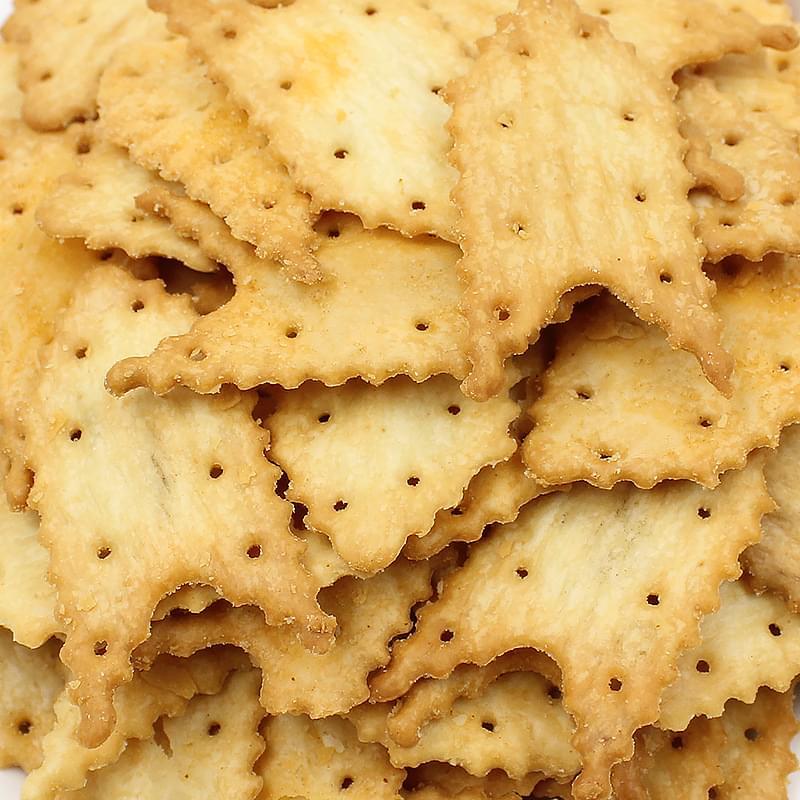 【趣园】奇乐脆片饼干200g休闲装芝士味