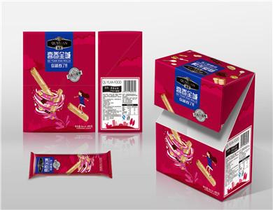 趣园巧克力手工蛋卷480克(喜卷全城)
