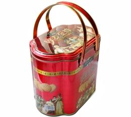 趣园饼干厂家批发欧麦至尊什锦曲奇手提礼盒装特产年货食品