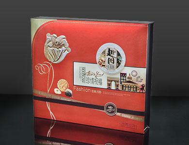 趣园真情月饼礼盒 广式月饼厂家 蛋黄白莲蓉月饼批发团购