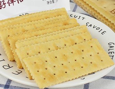 趣园168克咸蛋黄苏打饼干整箱批发休闲食品代理零食小饼干咸苏打批发