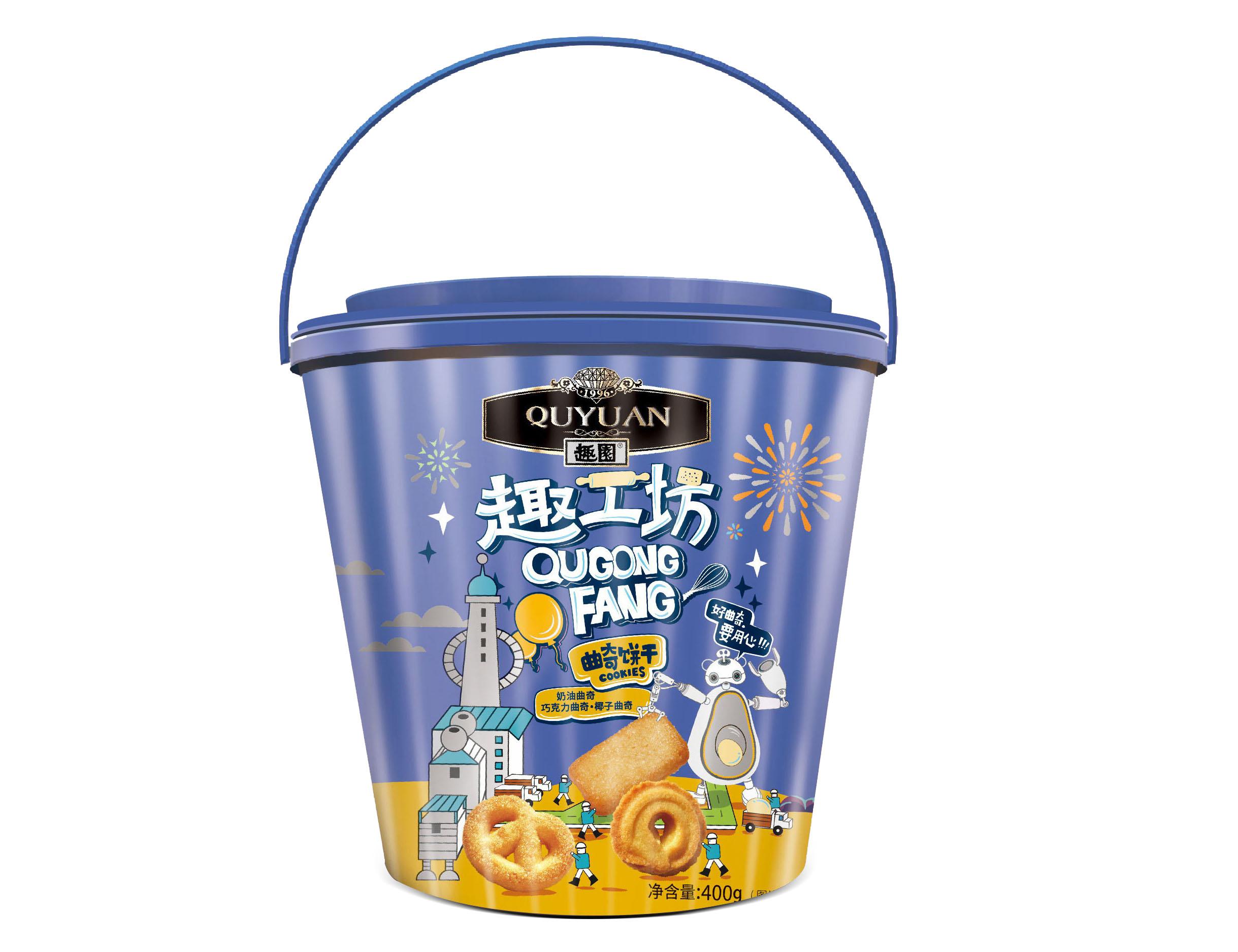 曲奇饼干代加工 半斤装礼盒产品  年货礼品 饼干生产厂家直销 招商代理曲奇饼干