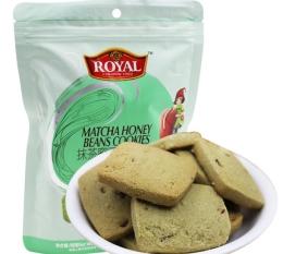 加拿大皇家抹茶蜜豆曲奇西饼200克