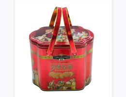趣园饼干厂家批发欧麦什锦曲奇手提礼盒装特产年货食品