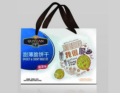 趣园甜薄脆饼干芝麻味800克家庭装礼盒装