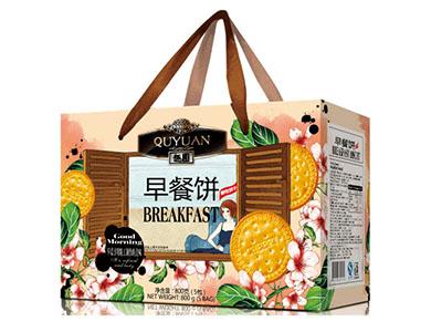 趣园800克牛奶早餐饼超值家庭装休闲零食饼干