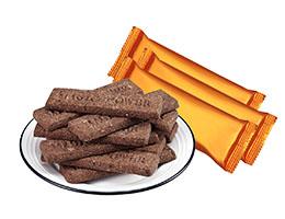 趣园135克黑纤维饼干厂家批发团购贴牌