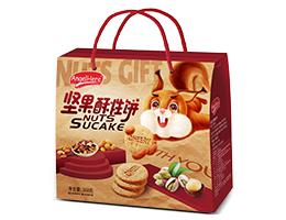 趣园368g/518g/818g坚果酥性饼干