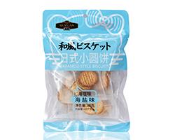趣园80g海盐味日式小圆饼
